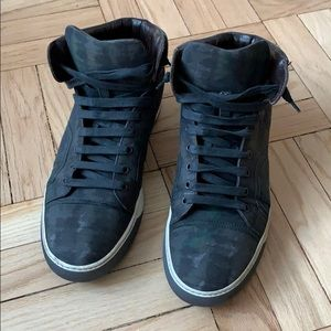 Lanvin - Army Fatigue Hightop Sneakers - Size 9